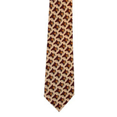 Horse Warrior Artist Design Silk Tie