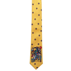 Norval Morrisseau Man Changing into Thunderbird Artist Design Silk Tie