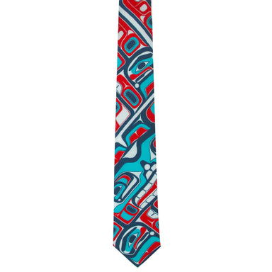 James Johnson Bentwood Box Artist Silk Tie - Oscardo