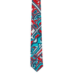 James Johnson Bentwood Box Artist Silk Tie