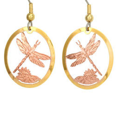Dragonfly Cut-out Earrings