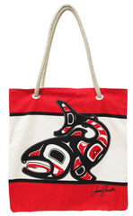 Jamie Sterritt Salmon Printed Eco-Bag