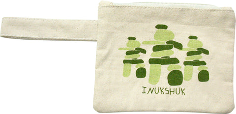 Inukshuk Printed Eco-Pouch