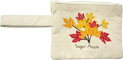 Maple Leaf Printed Eco-Pouch