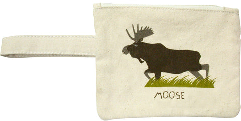 Moose Printed Eco-Pouch