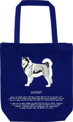 Husky Printed Eco-Bag
