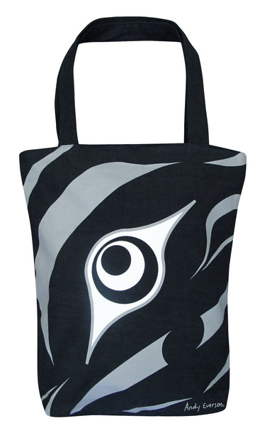 Andy Everson The Beginning Artist Collection Printed Eco-Tote - Oscardo