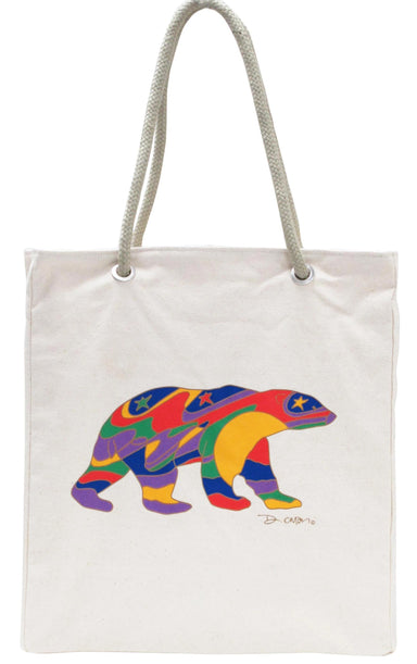 Dawn Oman Alpha Bear Eco-Bag - Oscardo