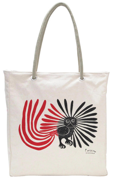 Kenojuak Ashevak Enchanted Owl  Eco-Bag - Oscardo