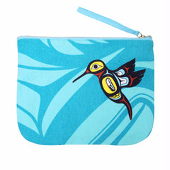 Hummingbird Eco Zip Pouch