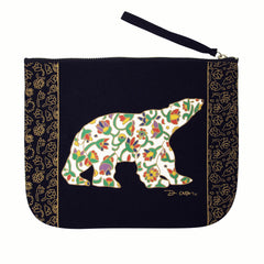 Dawn Oman Spring Bear Eco Zip Pouch
