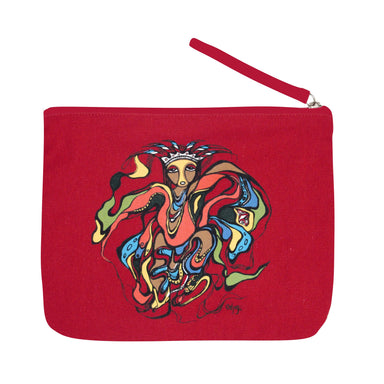 Daphne Odjig Pow Wow Dancer Eco Zip Pouch - Oscardo