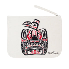 Bill Reid Children of the Raven Eco Zip Pouch
