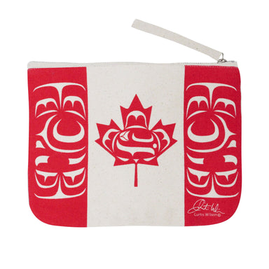 Curtis Wilson Standing Together Eco Zip Pouch - Oscardo