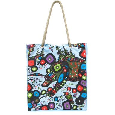 John Rombough Bear Eco Bag - Oscardo