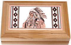 Native Rectangular Wooden Box