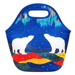 Dawn Oman Sky Watchers  Insulated Lunch Bag