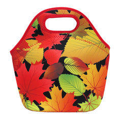 Fall Leaves  Insulated Lunch Bag
