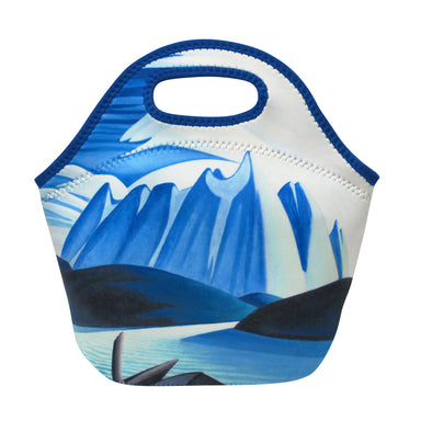 Lawren Harris Lake and Mountains Insulated Lunch Bag - Oscardo