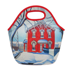 Lawren Harris Red House in Winter  Insulated Lunch Bag
