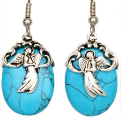 Angel Turquoise Reflections Earrings
