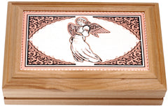 Angel Rectangular Wooden Box