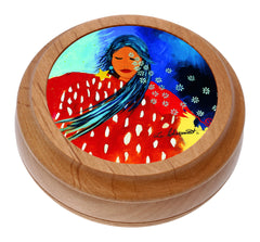 'At Peace with the Universe' Artist Round Box - Oscardo