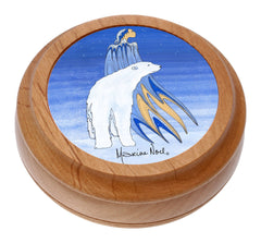 Maxine Noel 'Mother Winter' Artist Round Box