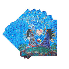 Leah Dorion Breath of Life Paper Napkins
