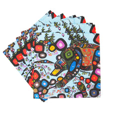 John Rombough Bear Paper Napkins