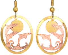 Dolphin Cut-out Earrings