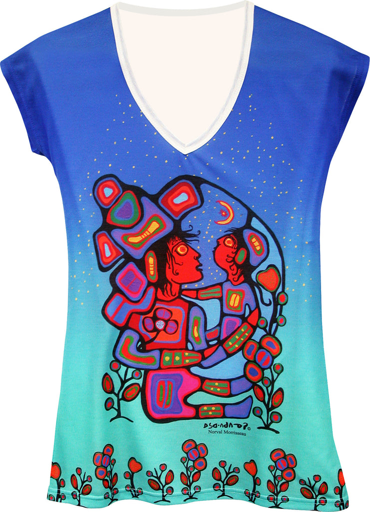 Norval Morrisseau Mother & Child - Art Shirt
