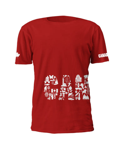 Images of Canada - T-Shirt (min. 24) - Oscardo