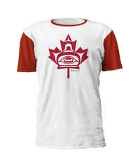 Andy Everson Maple Leaf Art T-Shirt - Andy Everson