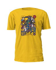 Norval Morrisseau Man Changing into Thunderbird  - Art T-Shirt