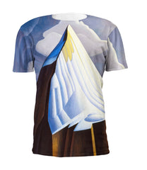 Lawren Harris Mount Lefroy Full Print Art T-Shirt