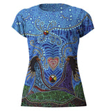 Leah Dorion Breath of Life Full Print Art T-Shirt
