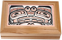 Native Design Rectangular Wooden Box