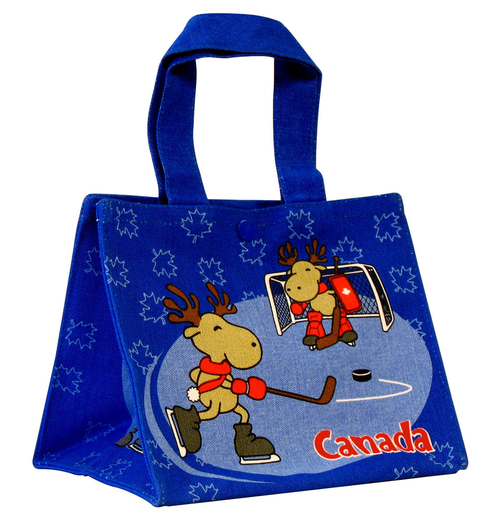 Hockey Moose Lunch Bag