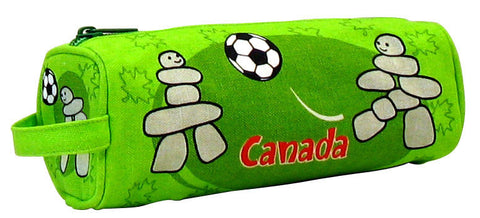 Soccer Inukshuk Pencil Case
