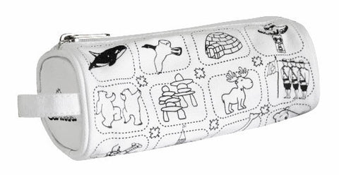Colour Your Own Canada Icons Pencil Case