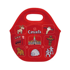 Canada Icons Children's Insulated Lunch Bag