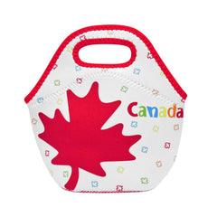 Maple Leaves Children's Insulated Lunch Bag