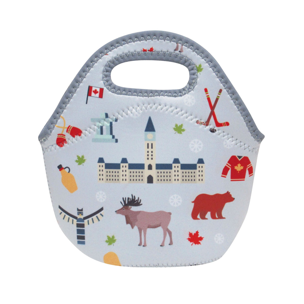 Canadian Winter Children's Insulated Lunch Bag