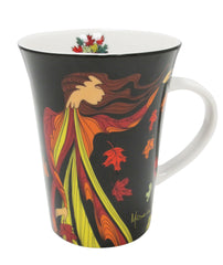 Maxine Noel 'Leaf Dancer' Porcelain Mug