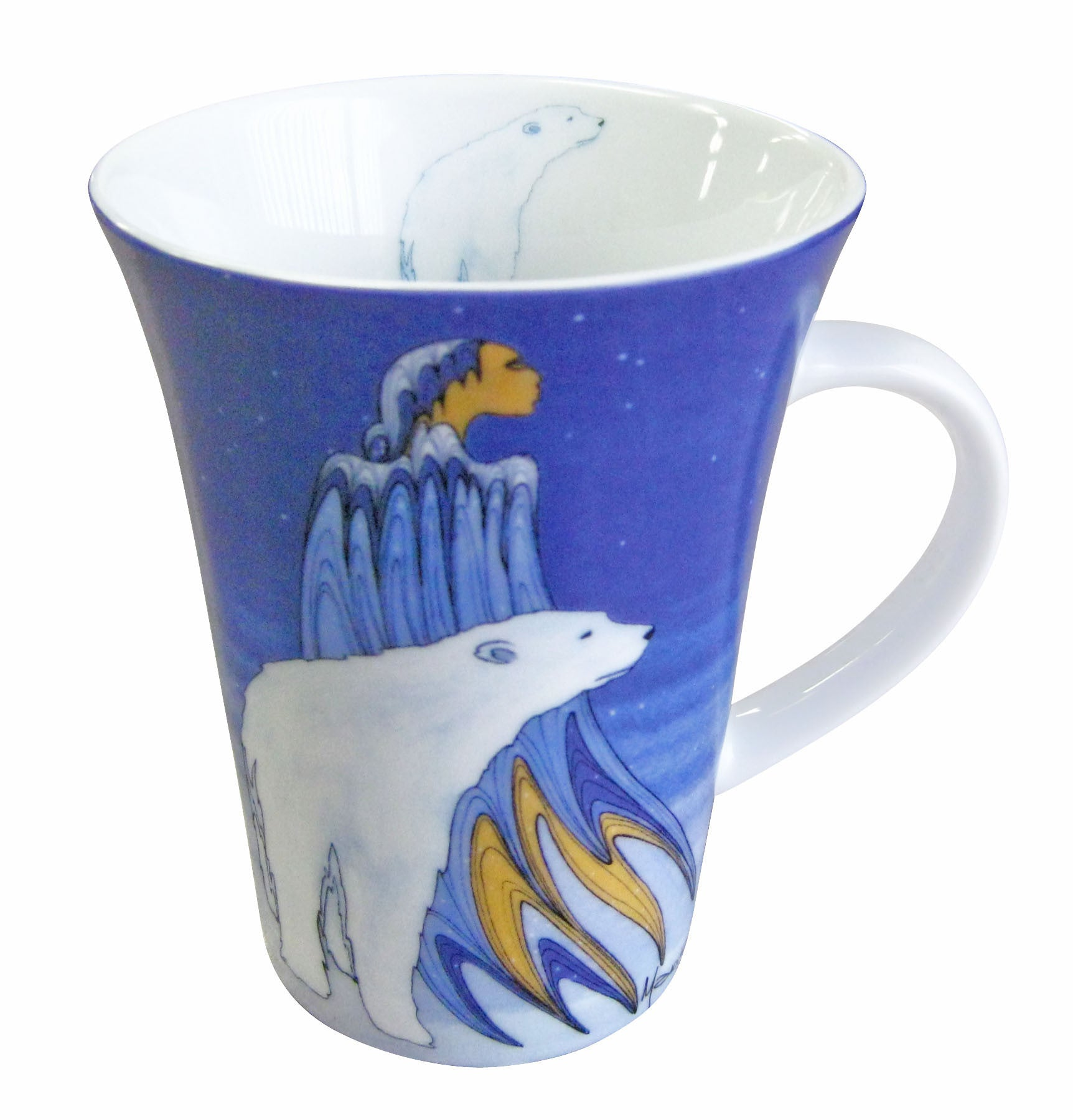 'Mother Winter' Porcelain Mug - Oscardo