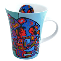 Norval Morrisseau Mother & Child Porcelain Mug