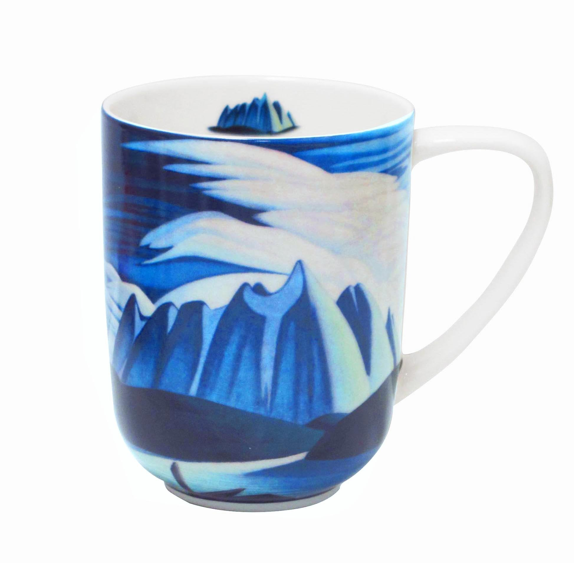 Lawren Harris Lake and Mountains Porcelain Mug