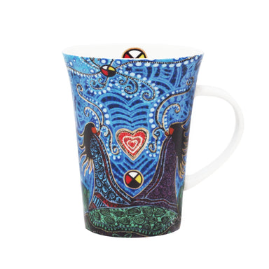 Leah Dorion Breath of Life Porcelain Mug - Oscardo