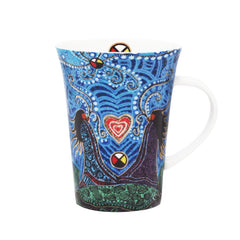 Leah Dorion Breath of Life Porcelain Mug